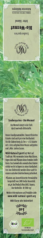 Etikett Tee-Wermut
