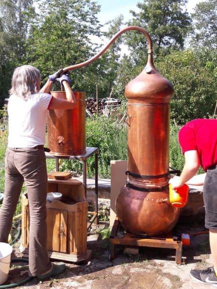 Praxiswoche Destillation