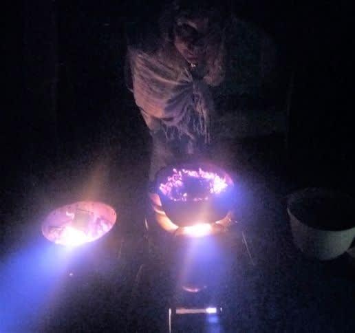 Feuer hüten die ganze Nacht Alchemie und Spagyrik