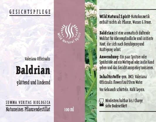 Baldrian Gesichtspflege