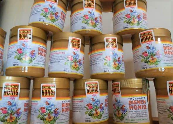 Biozertifizierter Bienenhonig